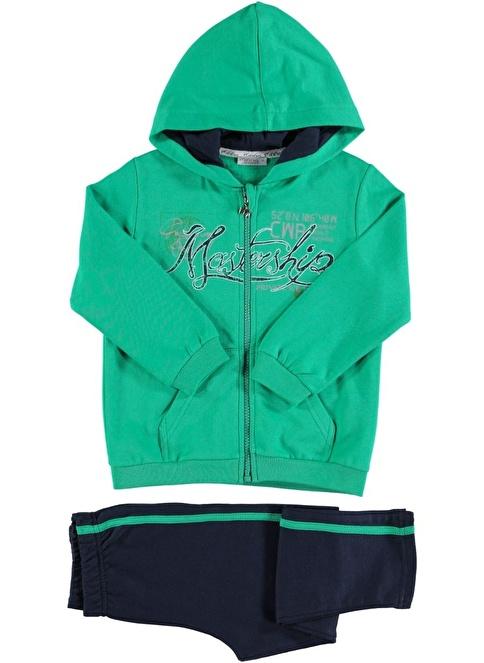 Zeynep Tekstil Eşofman Takım Yeşil